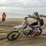 Lars van Berkel wint strandcross Vlissingen, Danny van den Bosse derde