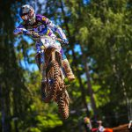 Miro Sihvonen pakt top drie plaats in EMX Open in Letland