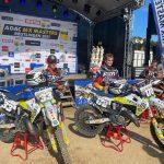 Husqvarna SKS Racing NL team eerste en tweede in ADAC Youngster 125 Cup in Reutlingen