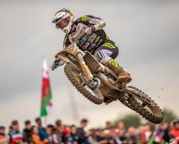 Lars van Berkel ruim in de punten in MXGP Lommel