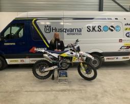 Lynn Valk naar Husqvarna-SKS Racing
